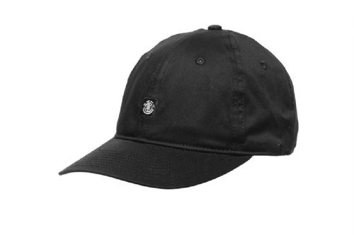 ELEMENT MENS BASEBALL CAP.FLUKY DAD UNSTRUCTURED BLACK STRETCH CURVED HAT 8W 2 2